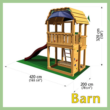 Игровой комплекс Jungle Barn